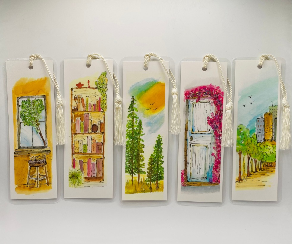The Healing Tree Studio New bookmarks and greeting cards